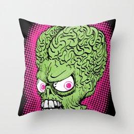 Pop Martian Throw Pillow