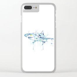 Shark - Toothy Clear iPhone Case