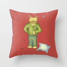 You are the cat's pajamas Throw Pillow