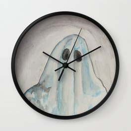 Ghost Wall Clock