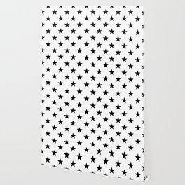 Stars (Black/White) Wallpaper