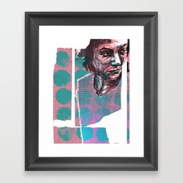 Il payait sans sourciller. Framed Art Print