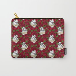 Heart and Roses Carry-All Pouch