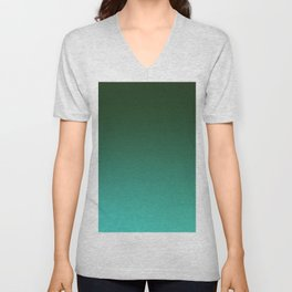 SHADOWS AND COUNTERPARTS - Minimal Plain Soft Mood Color Blend Prints Unisex V-Neck