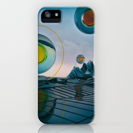 EGG-CB PYROXYLIN iPhone Case