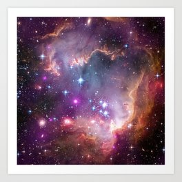 Wing of the Small Magellanic Cloud Art Print