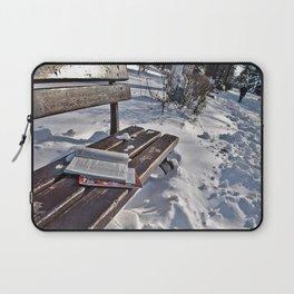 Winter in park Laptop Sleeve
