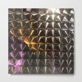 Reflections of Jupiter's Amalthea Gossamer Ring Metal Print