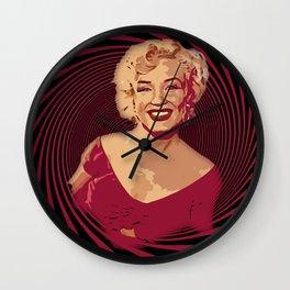 Retro Marilyn Wall Clock