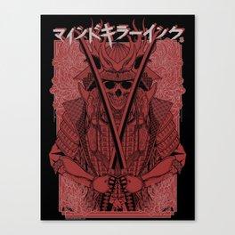 MKI Samurai ( BLACK ) Canvas Print