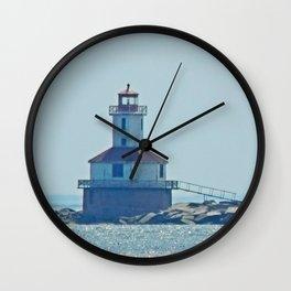 Indian Head Lighthouse PEI Wall Clock