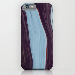 Orange Lining on an Icescape iPhone Case