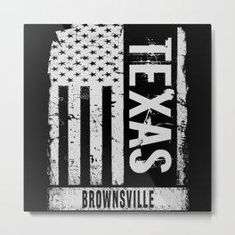 Brownsville Texas Metal Print