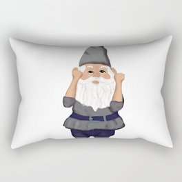Hangin with my Gnomies - Fist Pump Rectangular Pillow