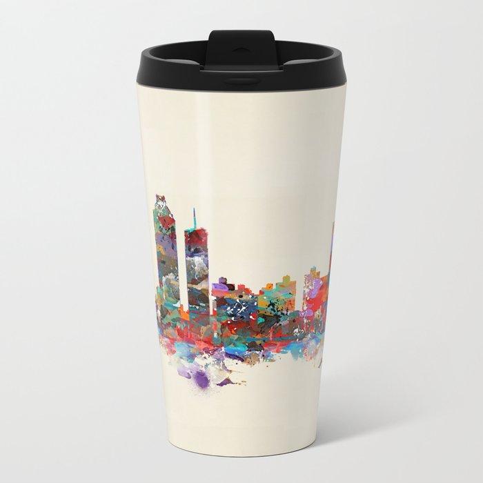 Atlanta Georgia  Metal Travel Mug