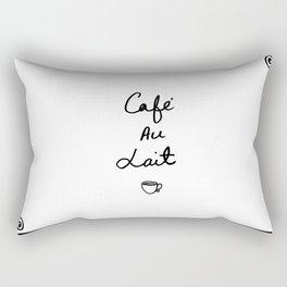 Cafe Au Lait Rectangular Pillow
