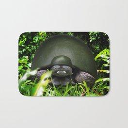Slow Commando - Army Turtle Bath Mat