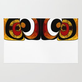 Making Eyes Of Abstract Bliss By Omashte Rug