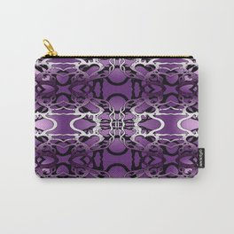 Puple heart swirl Carry-All Pouch
