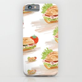 National Hoagie Day iPhone Case