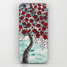 Red Cherry Tree iPhone Skin