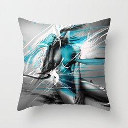 EXPRESSION_#001 Throw Pillow