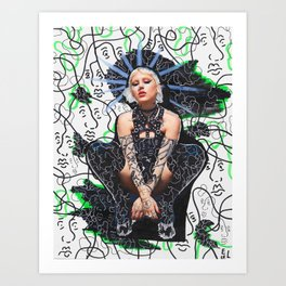 Brooke Candy x Ugherik Art Print
