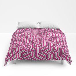 Bubblegum Maze Comforters