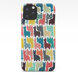 baby llamas iPhone Case