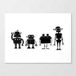 Four Robots Canvas Print