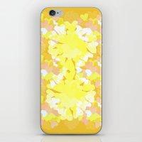 botanical iPhone & iPod Skins featuring Botanical by Ingrid Castile