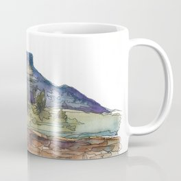Purple Mountian, New Mexico Coffee Mug
