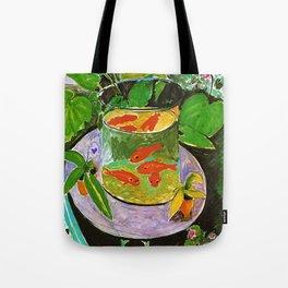 Henri Matisse Goldfish Tote Bag