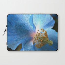 Blue Poppy Laptop Sleeve