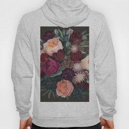 Dark florals Hoody