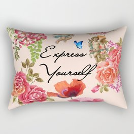 Express Yourself Rectangular Pillow