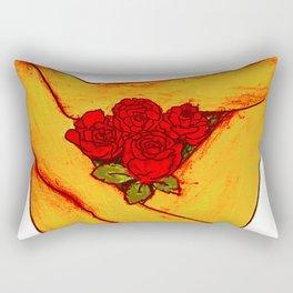 Full Bloom Rectangular Pillow