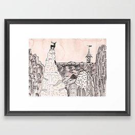 grand budapest hotel Framed Art Print