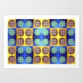 Many soft dots ... Art Print