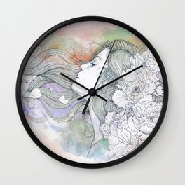 Le Vent II Wall Clock