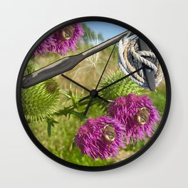 A Tribute to Shakespeare's Hamlet: Two Bee Oar Knot Two Bee Wall Clock