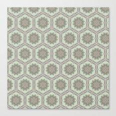 Hexaflower Canvas Print