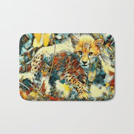 AnimalArt_Cheetah_20171003_by_JAMColorsSpecial Bath Mat