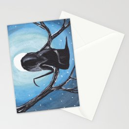 Reaper in the Moonlight  Stationery Cards