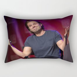 Sebastian Stan   SLCC 2015 Rectangular Pillow