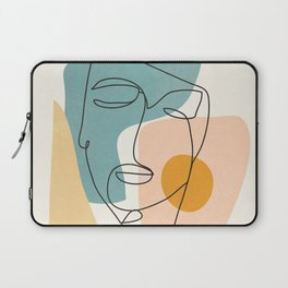Abstract Face 25 Laptop Sleeve