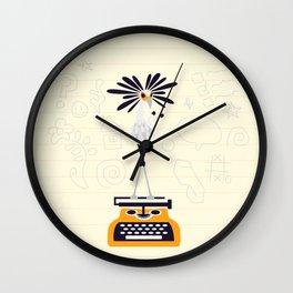 Secretary Bird - v1 Wall Clock