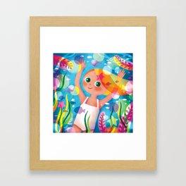 Hello Summer! Framed Art Print
