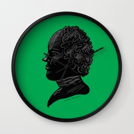 Silhouette of a Gentleman Wall Clock
