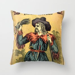 Bill's Last Scalp Throw Pillow